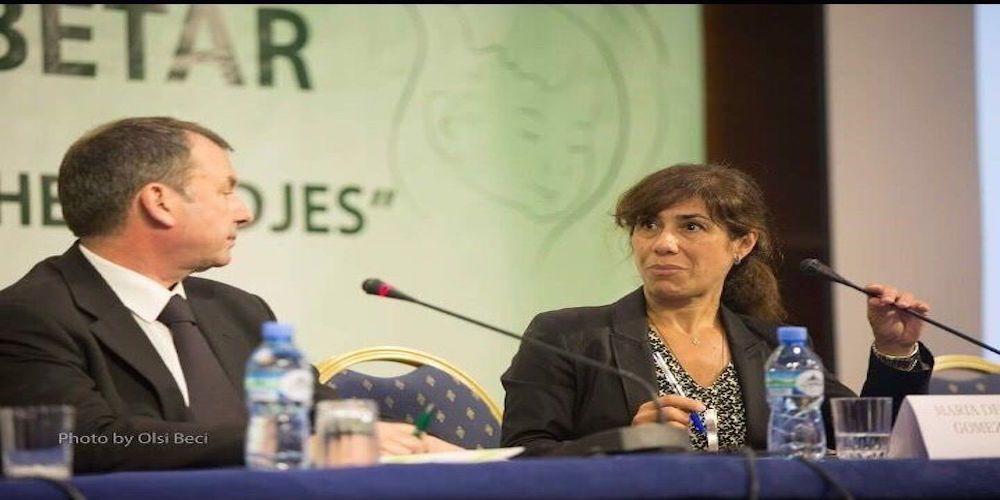 Congreso Albania Dra. Gómez