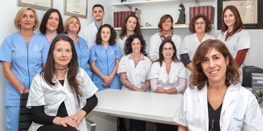 equipo médico Dra Gómez Roig